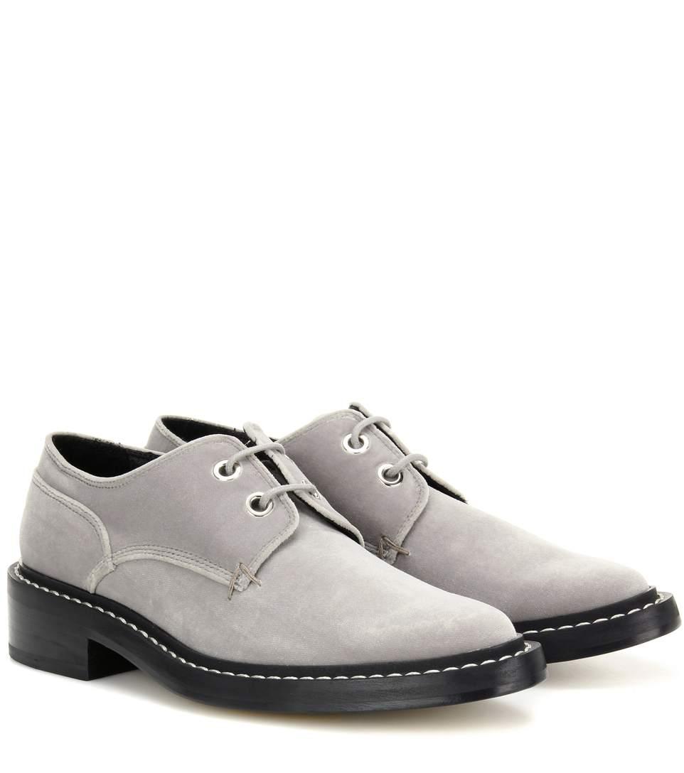 Rag & Bone Velvets Kenton velvet derby shoes