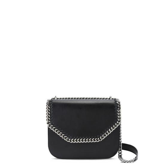 Black Falabella Box Mini Shoulder Bag