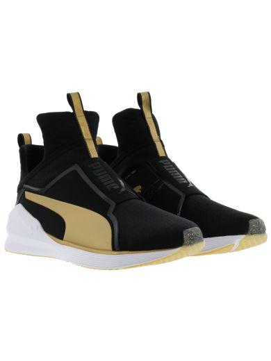 Puma Sneakers Black&gold Fierce Hi-top Sneakers