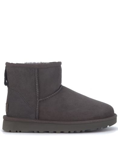 Ugg Suedes Ugg Classic Ii Mini Ankle Boots In Grey Suede