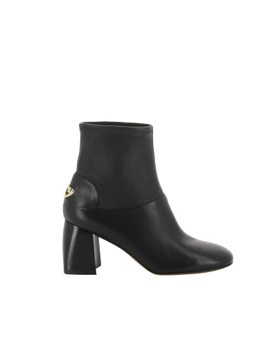 Tory Burch Leathers Tory Burch Sidney Mid-Heel Boots