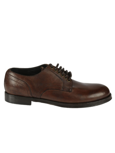 Dolce & Gabbana Leathers LEATHER DERBY SHOES