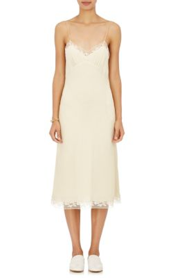 The Row Silks Santi Silk Slip Dress