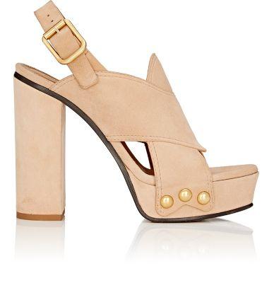 Chloé Suedes Mischa Suede Platform Sandals