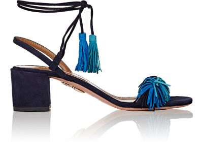 Aquazzura Suedes Wild Thing Sandals