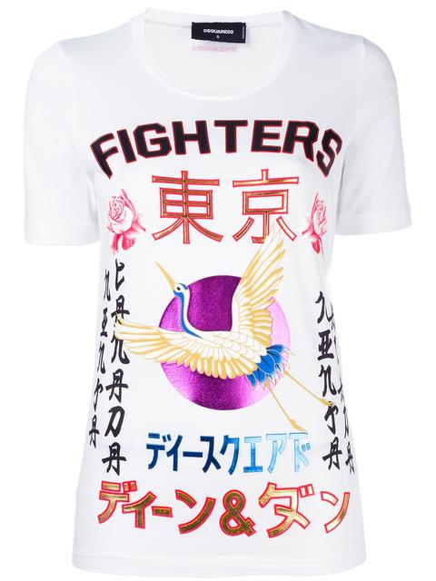 'FIGHTERS' CRANE KANJI T