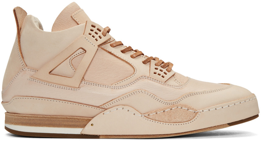 Beige Manual Industrial Products 10 High-Top Sneakers