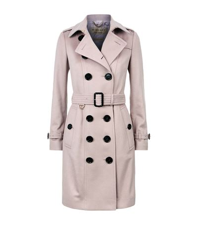 Burberry Cashmeres The Sandringham Cashmere Trench Coat