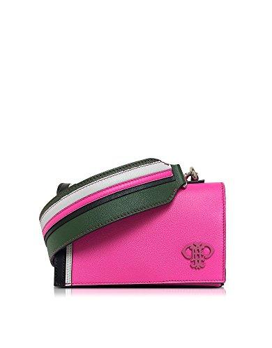 Emilio Pucci Leathers EMILIO PUCCI WOMEN'S 67BD0167004344 FUCHSIA LEATHER SHOULDER BAG