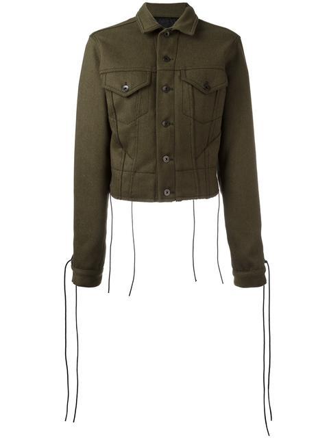 Khaki Wool & Linen Jacket