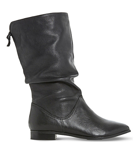 Rosalind slouchy leather boots