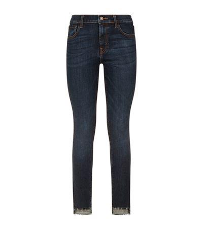 J Brand Denims Mid Rise Stepped Hem Jeans