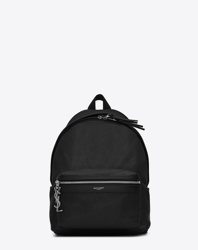 MINI CITY BACKPACK IN BLACK LEATHER