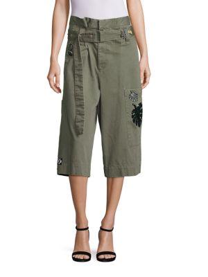Marc Jacobs Militarys Long Cargo Shorts