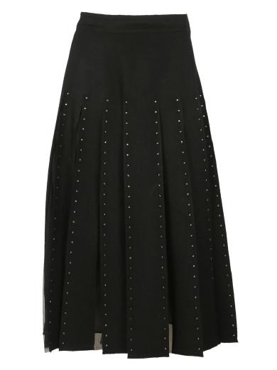 Valentino Wools Valentino Pleated Skirt