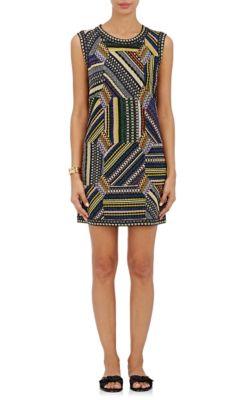 Missoni Linings Patchwork Shift Dress