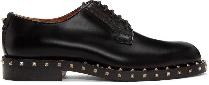 Soul Rockstud leather derby shoes