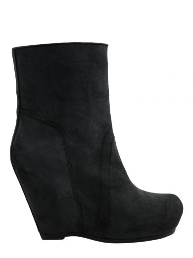 Rick Owens Leathers Wedge Boots