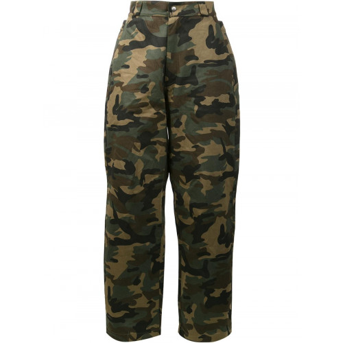 HOOD BY AIR camouflage print trousers