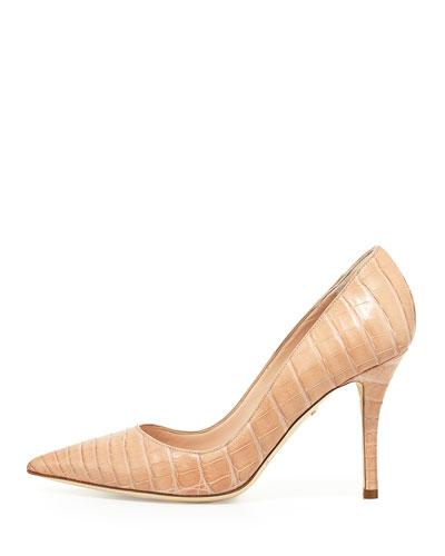 Nancy Gonzalez High heels HOLLY CROCODILE 90MM PUMP