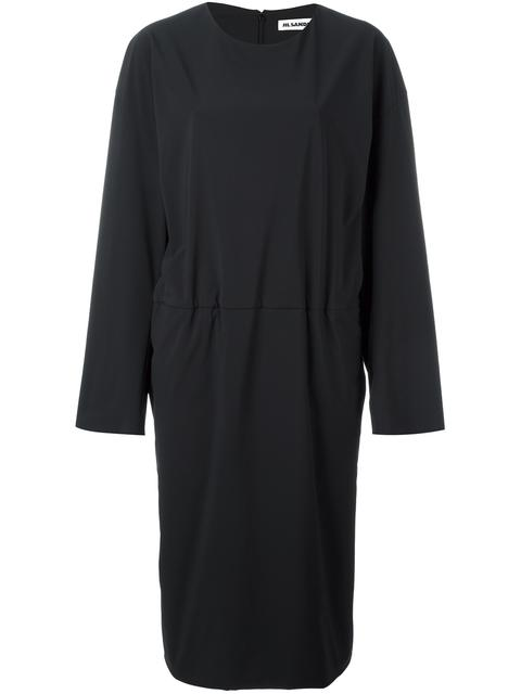 tucked effect dress