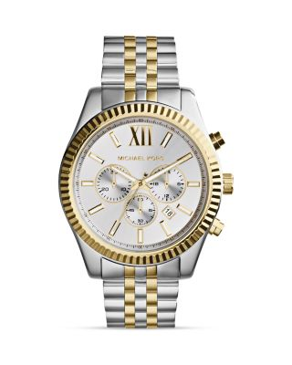 Michael Kors Tone Lexington Chronograph Watch, 45mm
