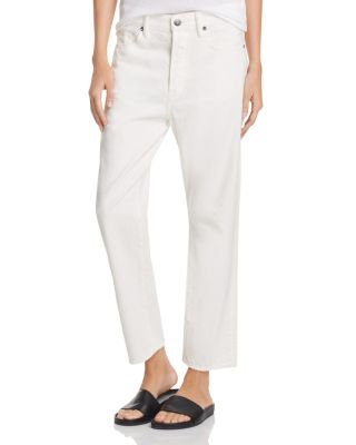 Vince Denims 1961 UNION SLOUCH JEANS IN WHITE