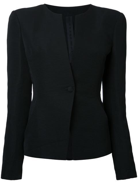 oversized shoulders jacket