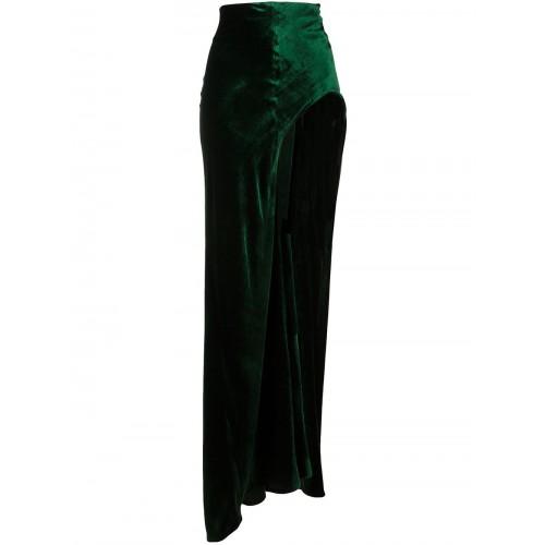 Haider Ackermann Silks draped asymmetric skirt