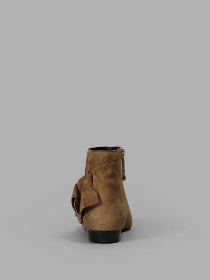 J.W.ANDERSON Ruffle Pointy Toe Bootie (Women)