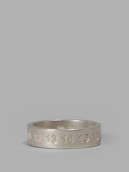 embossed logo ring