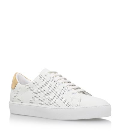 Westford Perforated Leather Sneakers