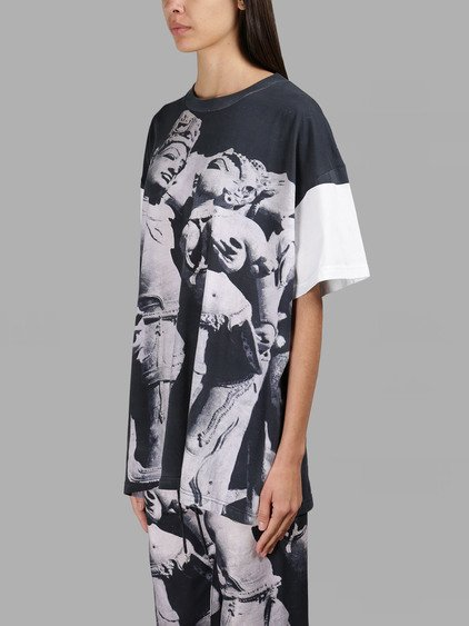 ASHISH Multicolor Printed Oversized T-Shirt