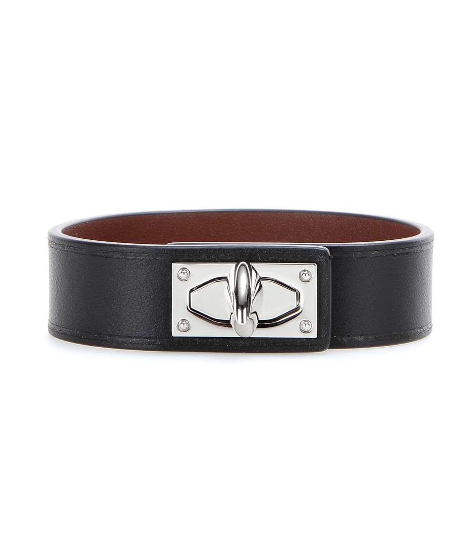SHARK TOOTH LEATHER BRACELET
