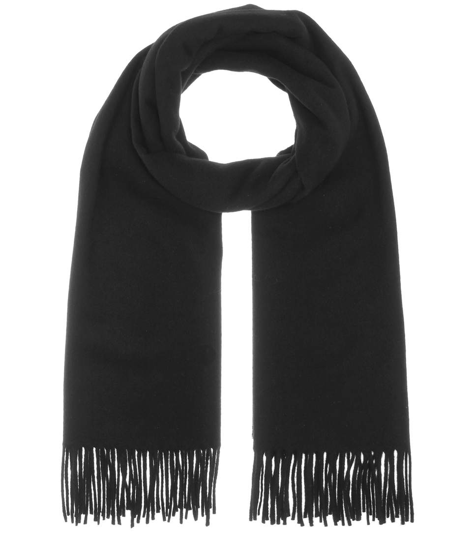 CANADA ANTHRACITE WOOL SCARF