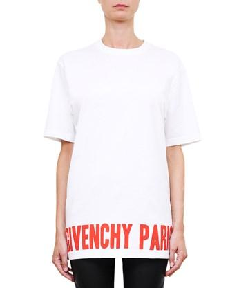 Givenchy Cottons White cotton t-shirt