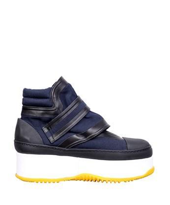 Marni Leathers Platform sneakers