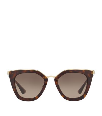 PRADA Mirrored Cat Eye Sunglasses, 52Mm