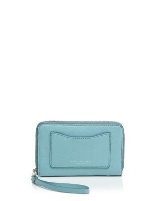Recruit zip phone wristlet purse
