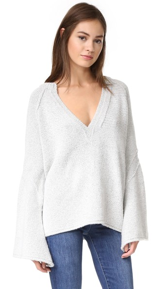 Free People Wools Lovely Lines Sweater