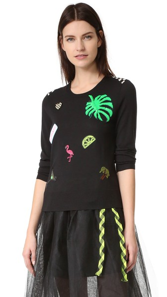 Marc Jacobs Wools Scoop Crew Neck Sweater