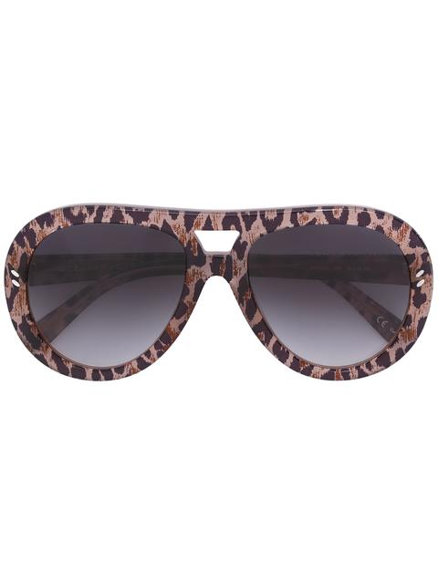 STELLA MCCARTNEY Rounded Aviator Sunglasses