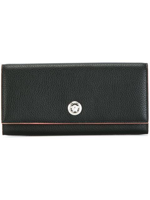 Medusa Leather Wallet