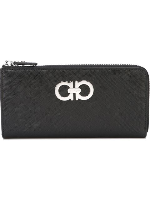 GANCINI ZIP AROUND WALLET