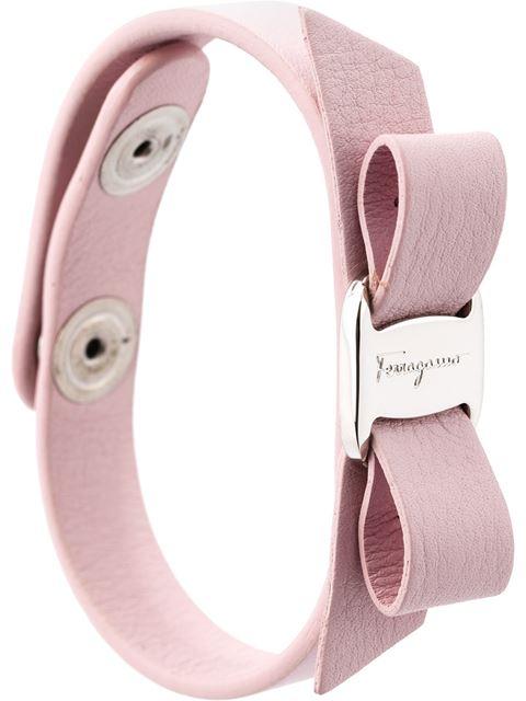 Salvatore Ferragamo Bracelets 'Vara' bow bracelet