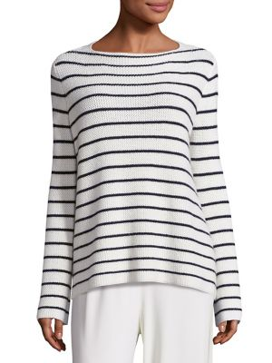 The Row Cottons Stretton Striped Knit Top