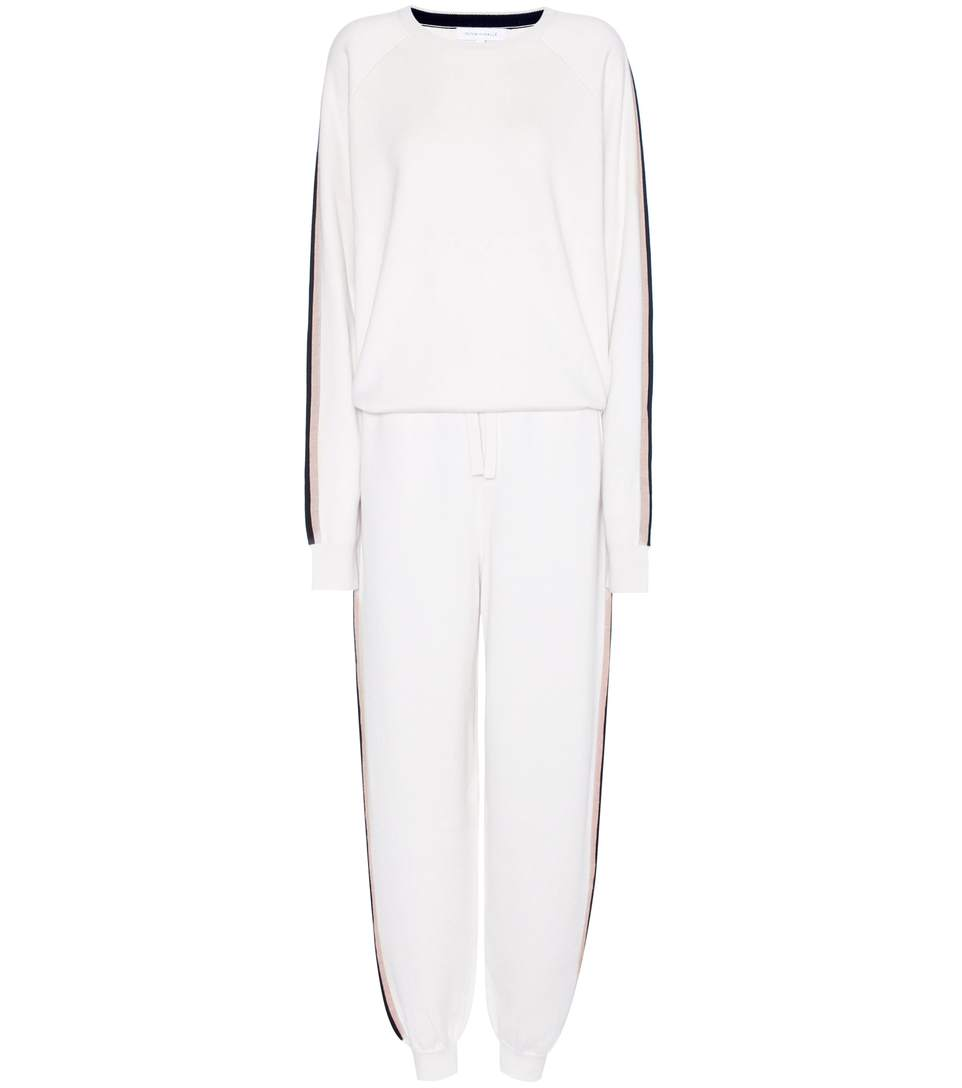 Missy silk and cashmere tracksuit
