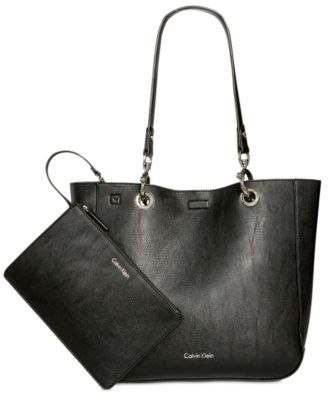 SONOMA REVERSIBLE NOVELTY TOTE WITH POUCH