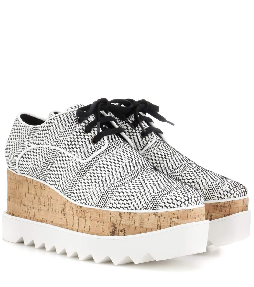 Stella Mccartney Leathers Elyse Derby shoes