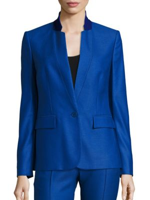 Stella Mccartney Wools Fleur Wool Jacket